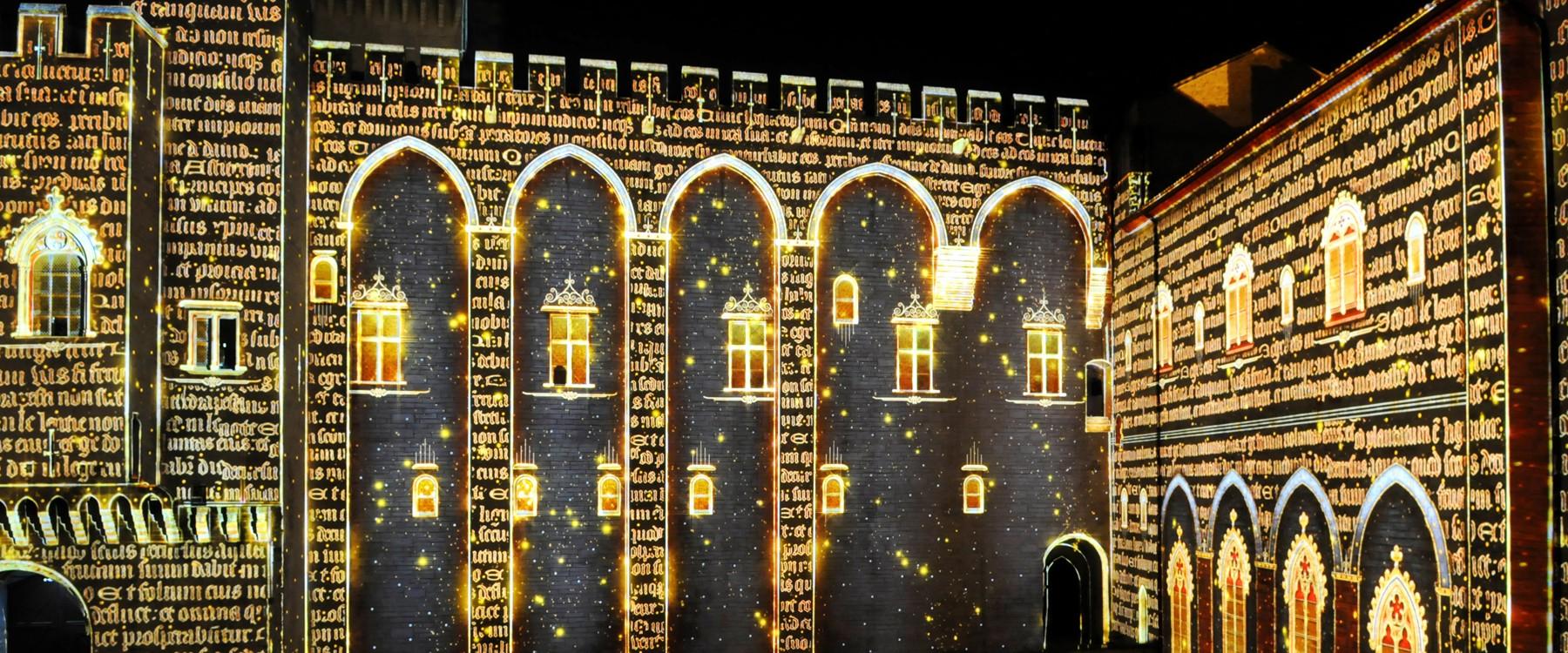 Le show du Palais des Papes