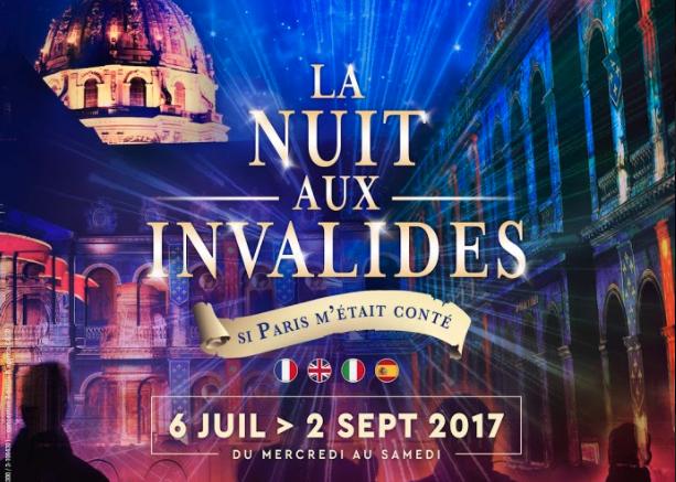 La Nuit aux Invalides 2017