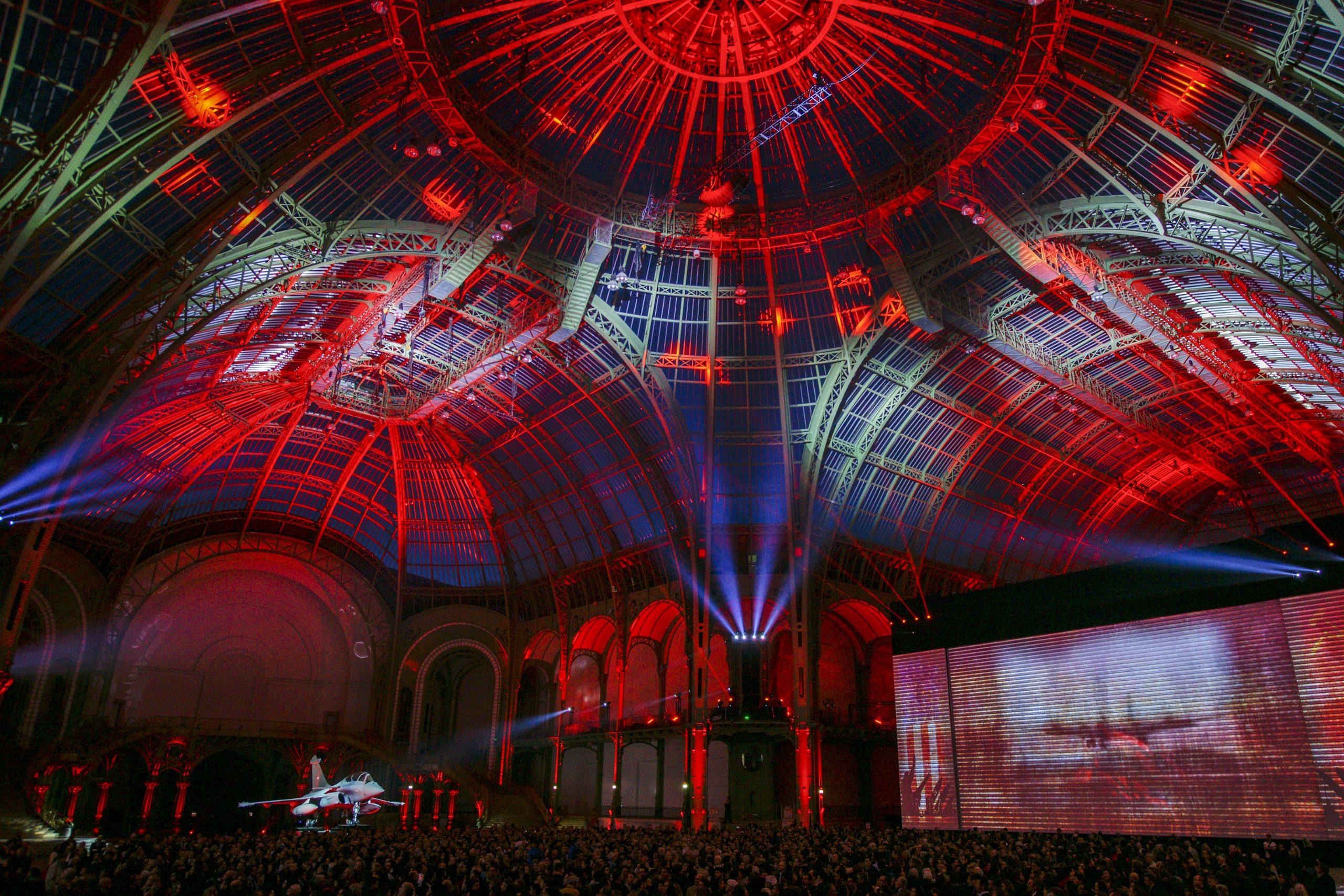 A show at the Grand Palais, Paris